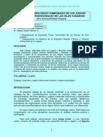 Análisis Praxiológico Comparado de Juegos y Deportes Tradicionales de Canarias.