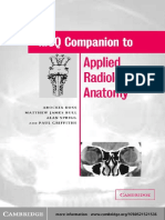 [FRCR] Doss - MCQ Companion to Applied Radiological Anatomy