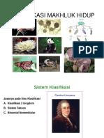 PPT Klasifikasi Makhluk Hidup