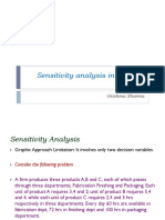 Sensitivity Analysis in Simplex Method - GJS