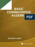 Singh, Balwant - Basic Commutative Algebra