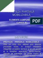 Elementele Protezelor Partiale