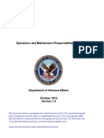 Operations and Maintenance Responsibility Matrix Template