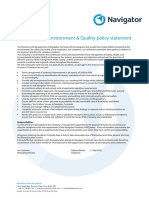 002 Health Safety Environment Policy Statement