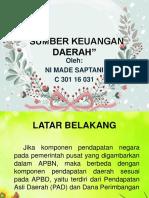 Ppt Sumber Keuangan Daerah''