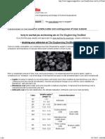 Classification of Coal