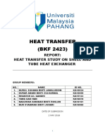 Lab Report Shell and Tube Heat Exchanger
