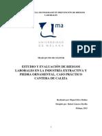 Estudio y evaluación de riesgos laborales en la industria extractiva