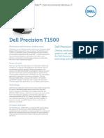 Precision t1500 Spec Sheet