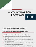 Acc 106 Account Receivables