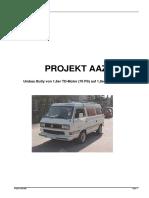 Conversie VW T3 Din 1.6 TD in 1.9 TD (Germ)
