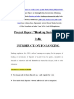Project Report on Banking System
