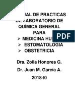 Manual de Praticas de Laboratorio de Quimica General