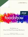Food Show India 2019