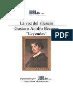 16. Becquer Gustavo Adolfo - La Voz Del Silencio