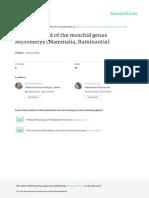 2016 An Early Record of the Moschid Genus Micromeryx (Mammalia, Ruminantia)