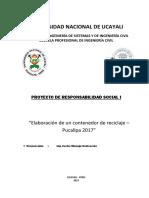 Informe 2 de Proyeccion Social (1)