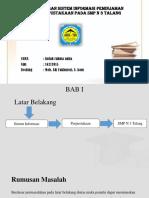 Perancangan Sistem Informasi Peminjaman Buku Perpustakaan Pada Smp