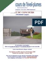 Affiche du huitième concours de nouvelles 2009.doc