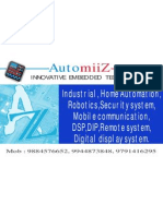 IEEE Embedded Projects from AutomiiZ chennai.