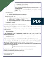 Informe Lab Nº12 Leyes de Kirchhoff