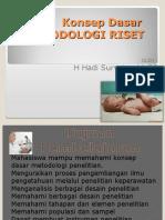 1.Dasar Metodologi Riset Keperawatan