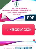 CONTROL DE CALIDAD DE LABORATORIOS MICROBIOLÓGICOS.pptx
