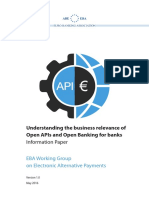 Understanding the Business Relevance of Open Apis and Open Banking for Banks