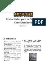 Analysis del Caso Metaltech