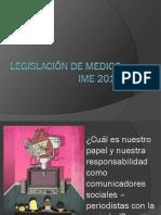 Legislación de Medios