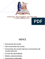 Economias y Desconomias de Escala