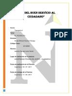 Informe 1 - Topografía II