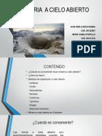 MINERIA  A CIELO ABIERTO.pptx