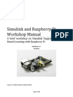 Simulink Rasp Pi Workshop