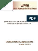 World Mental Health Day 2010 - WFMH - KAMHA.ORG