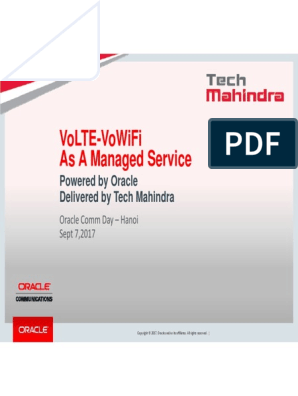Deploying end-to-end VoLTE and VoWiFi solution with Oracle