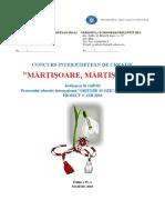 1. Concurs Martisoare 2017-2018