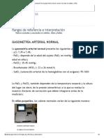 Interpretación de Una Gasometría Arterial_ Valores Normales en Adultos y Niños