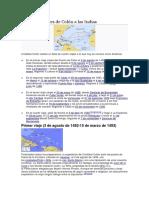 Los cuatro viajes de Colón a las Indias.docx