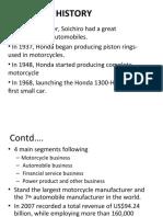 Honda's Final Presentation