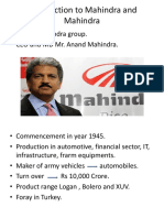 Introduction to Mahindra and Mahindra.pptx