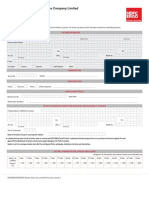 Home Insurance-Proposal Form