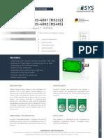 170511 DataSheet iSYS-4001_iSYS-4002 V2.7