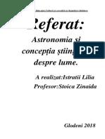 fizica astronomie