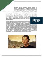 Etica de Maquiavelo Monografía