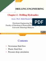 Ch 4 Drilling Hydraulics