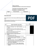 Checklist Pemeriksaan Payudara