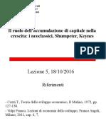 05 Neoclassici, Schumpeter, Keynes