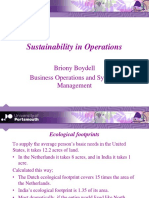2016 Lecture 22 Sustainability