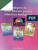 Culegere.de.Texte.literare.pentru.educarea.limbajului Ed.tehno.art TEKKEN